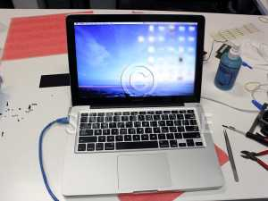 Apple MacBook Pro 13 inch A1278 2011 Logic Board Screen Heatsink Repairs