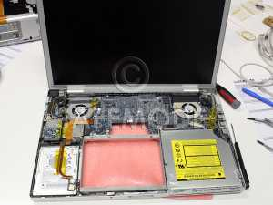 Apple MacBook Pro A1121 Fan Over-heating Repairs