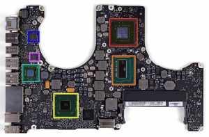 MacBook Pro non-Retina Logic Board