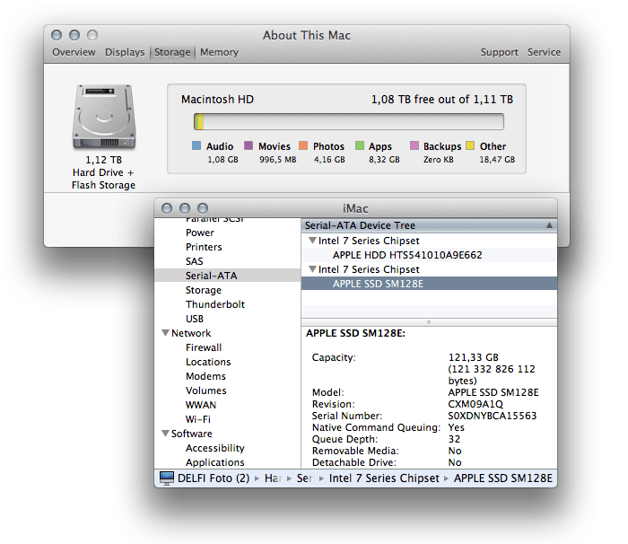 What a fusion drive looks like