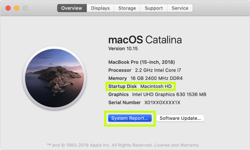Mac system overview