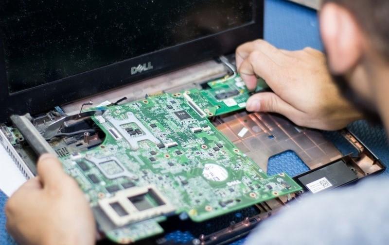 Dell laptop motherboard repair replacement