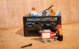 computer repair on desktop PC