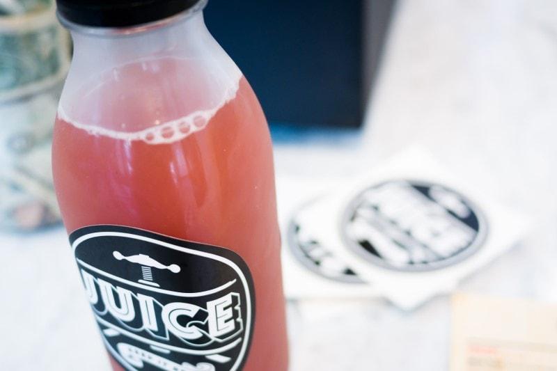 bottled juice