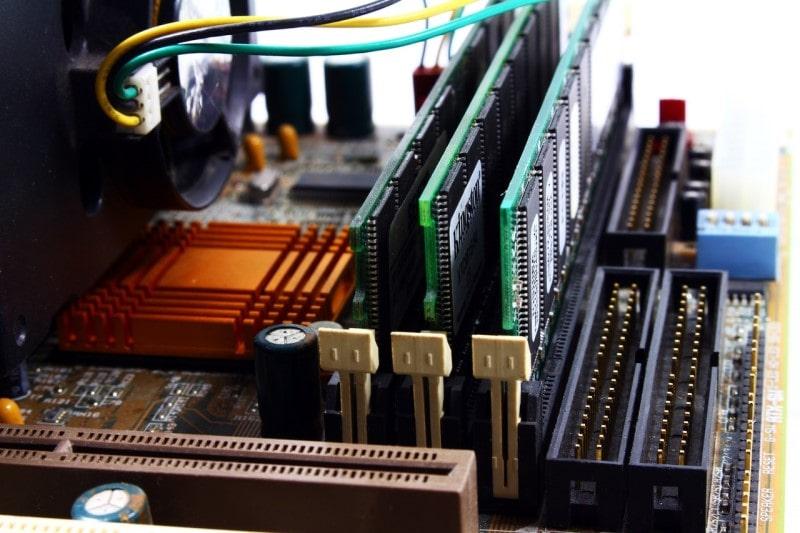 desktop PC motherboard